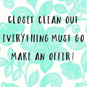 Other - Help me clear my closet!